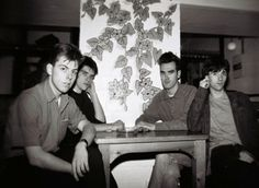 The Smiths at Moles Club, Bath, England on September 16, 1983 ― photo by Martin Whitehead.