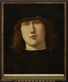 Lorenzo Lotto. 1500. Ritratto di giovane.  Accademia Carrara