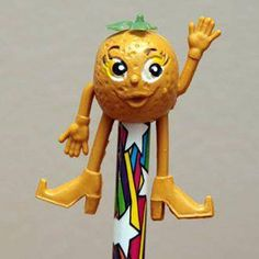 Munch Bunch pencil topper orange(one of a series that came from a cereal packet) 1980s Childhood, My Childhood Memories, Sweet Memories, Pencil Toppers, Retro Toys, Vintage Toys 1970s, 1970s Toys, My Memory, My Children