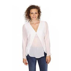 Armani Collezioni ladies shirt long sleeve RMC21T RM333 101