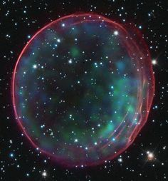 The Case of the Missing Supernova Companion. At the center of this supernova remnant should be the companion star to the star that blew up. The trouble is that even a careful inspection of the center of SNR 0509-67.5 has not found any star at all. This indicates that the companion is intrinsically very faint -- much more faint that many types of bright giant stars that had been previous candidates. In fact, the implication is that the companion star might have to be a faint white