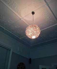 Paper Book Roses  Round Hanging Light Shade by MelsCreativeDesigns, $60.00