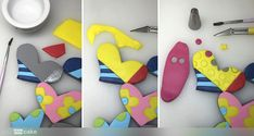 Your Cake. Cake Pop, Cake Tutorial, Creative Food, Projects To Try, Desserts, Fondant Cakes, Cake Designs, Romero Britto, Hearts