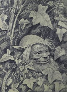 Little Gnome by Brian Froud   More Froud Family @ http://groups.google.com/group/Froud & http://groups.yahoo.com/group/Froud