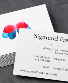 if I were a psychologist, I would totally have these business cards