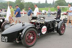 Harry Lester's MG P-type (GUR 963), as photographed by Curtis Jacobson for BritishRacecar.com