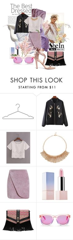 """""""Floral Romance with SheIn."""" by agnieszka-kufel ❤ liked on Polyvore featuring Anja, HAY, Sephora Collection, Wildfox and Paul Andrew"""