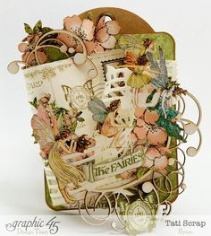 Once Upon a Springtime tag by Tati Scrap - a gorgeous springtime creation! #graphic45 #tag