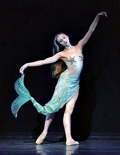 images of mermaid ballet costumes - Bing images Ballerina Costume, Ballet Tutu, Little Mermaid Costumes, The Little Mermaid, Theatre Costumes, Dance Costumes, Peter Pan Costumes, Fish Costume, Mermaid Tails