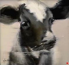 "Annie by Elsa Sroka Oil ~ 10 x 10"""