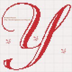 broderiepassion-abc belles lettres2- y.gif 961×961 píxeles