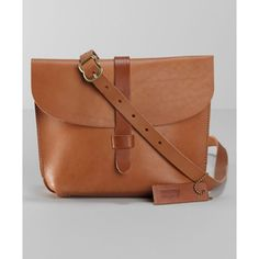Levi's Crafted Leather Saddle Bag