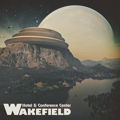 Wakefield Hotel & Conference Center - Lotria II Mount Borgis  #3d #3dart #render #design #rendering #space #sciencefiction #science #scifi #scifiart #arcology #fantasy #planet #landscape #nature #architecture #artwork #mattepainting #terragen #thegraphicspr0ject #hotel #clouds #sky #travel #exploration #future #futuristic #forest #research #lake