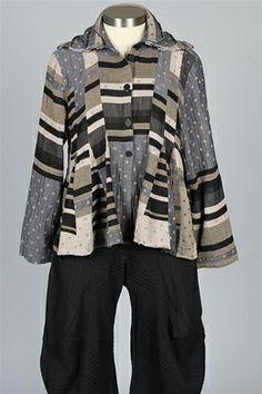 Dress To Kill - Triple Collar Shirt - Stripe & Dots