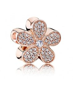 PANDORA Rose Gold Dazzling Daisy Charm Excellent workmanship, the choice of materials is very fine, very quality, welcome to buy.