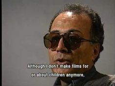 Abbas Kiarostami sur la direction des enfants au cinéma, Taormina International Film Festival [1995]
