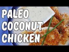 Paleo Coconut Chicken: A Crunchy Crusted Chicken Recipe