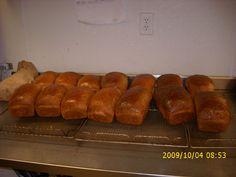 fresh baked bread  One tea spoon of yeast