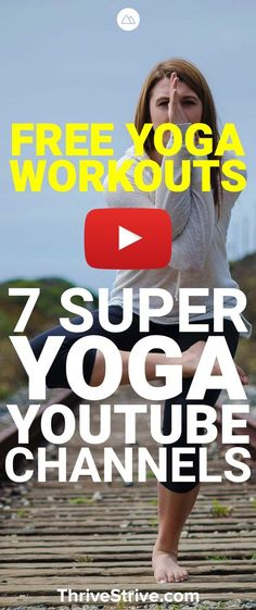 Looking to get started with yoga? Here are 7 awesome youtube channels that are great for yoga for beginners.