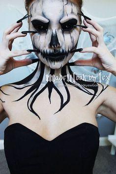 Cultura Inquieta - 25 de las más terroríficas ideas de maquillaje