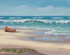 Sung Kim   Tutt Art Oil Painting Abstract, Painting Frames, Your Paintings, Landscape Paintings, Ocean Artwork, Singing, Beach, Outdoor, Paint Patterns