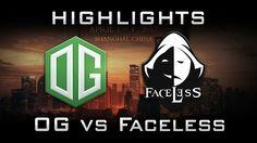 OG vs Faceless DAC 2017 Highlights Dota 2