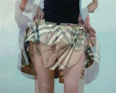 Blurry skirt.