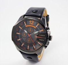 Pánské voděodolné hodinky CURREN černé – pánské hodinky Na tento produkt se  vztahuje nejen zajímavá sleva 3d2239a25b