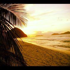 Tortola, BVI at sunset...