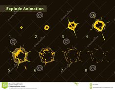 Explode Effect Stock Illustration - Image: 56726982