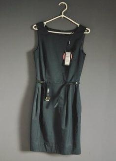 Kup mój przedmiot na #vintedpl http://www.vinted.pl/damska-odziez/krotkie-sukienki/15226389-elegancka-sukienka-z-paskiem