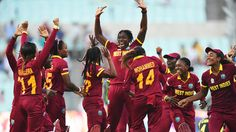 There are high fives all round after West Indies Women's triumph, Australia v West Indies, Women's World T20, final, Kolkata, April 3, 2016