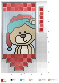 XMAS BEAR VALANCE Plastic Canvas Ornaments, Plastic Canvas Tissue Boxes, Plastic Canvas Crafts, Plastic Canvas Patterns, Valance Patterns, Santa Face, Plastic Canvas Christmas, Cross Stitching, Needlepoint