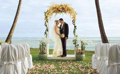 Moana Surfrider Waikiki Beach Weddings