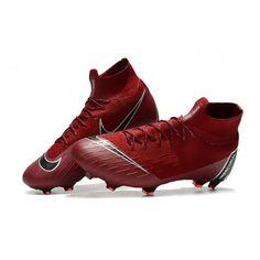 brand new 52398 e342a Scarpe Da Calcio Nike Mercurial Superfly VI 360 Elite FG Vino Rosso Nero  Bianco