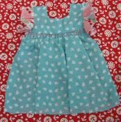 APPLIQUE-Pinafore Dress - via @Craftsy