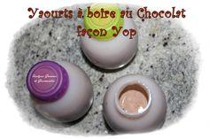 Yaourts à boire au chocolat façon Yop® (Multidélices)