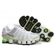 a8686579e66 ... Nike Womens Shox TL3 white green ...