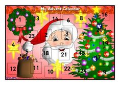 Make Your Own A4-Sized Advent Calendar (SB1062) - SparkleBox