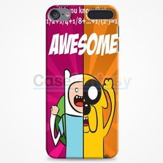Finn And Jake 1 Adventure Time Iphone iPod Touch 6 Case | casefantasy