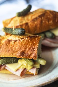 Recipe: A Very French Ham and Cheese Baguette — Recipes from The Kitchn #recipes #food #kitchen