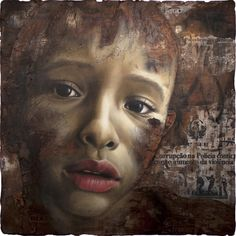 Jonathan Darby spent his youth at a Rudolf Steiner School in Hertfordshire. After being expelled from the Steiner school and having no A-l. World Poverty, Sweet Station, Collage Background, Central Saint Martins, A Level Art, Gcse Art, Human Emotions, Figurative Art, New Art