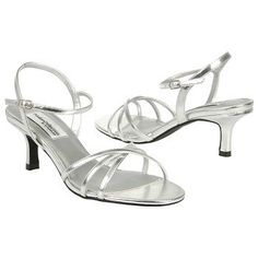 Women's Dyeables Flamingo Silver Shoes.com - For the Bridesmaid