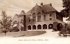 Nevins Memorial Library, Methuen, Mass