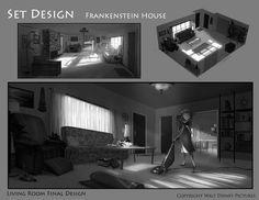 """""""Frankenweenie"""" visual development art by Helen Chen"""