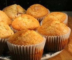 Muffin alaprecept Easy Cupcake Recipes, Baby Food Recipes, Homemade Muffins, Hungarian Recipes, Winter Food, Kitchen Recipes, Muffin Cups, Mini Cupcakes, Cake Cookies