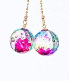"[★ PSYCHE ☆] Flower Shabun Ball Jewelry ""Re-sale"""
