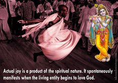 Actual Joy For full quote go to: http://quotes.iskcondesiretree.com/bhakti-charu-swami-on-actual-joy/ Subscribe to Hare Krishna Quotes: http://harekrishnaquotes.com/subscribe/ #Happiness, #Joy