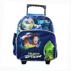 Toy Story Small Rolling Backpack *** For more information, visit image link. (This is an Amazon Affiliate link)