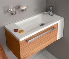 Vanity for small bathroom & 17 Small Bathroom Ideas With Photos | Pinterest | Small bathroom ...